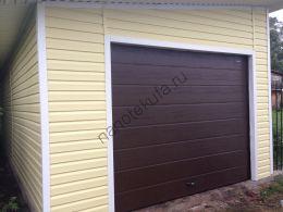 Секционные гаражные ворота Дорхан RSD01